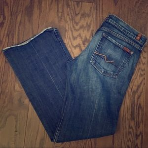 7 for All Mankind Bootcut Denim Jeans 32